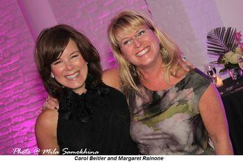 Carol Beitler and Margaret Rainone