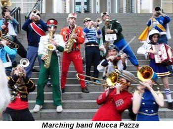 Blog 9 - Marching band Mucca Pazza