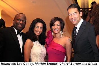 Blog 2 - Honoree Les Coney, Marion Brooks, Cheryl Burton and friend