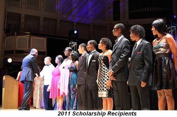 Blog 3 - 2011 Scholarship Recipients