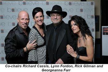 Blog 1 - Co-chairs Richard Cassis, Lynn Fordon, Rick Gilman and Georgeanna Farr