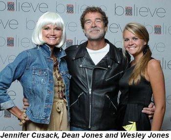 Blog 6 - Jennifer Cusack, Dean Jones and Wesley Jones