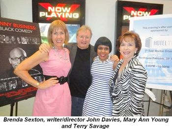 Blog 1 - Brenda Sexton, Writer Director John Davies, Mary Ann Young and Terry Savage