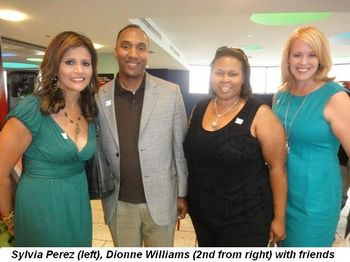 Blog 4 - Sylvia Perez, Dionne Williams (2nd from R) with friends