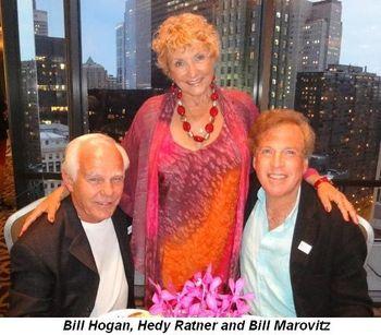 Blog 2 - Bill Hogan, Ruth Ratny and Bill Marovitz