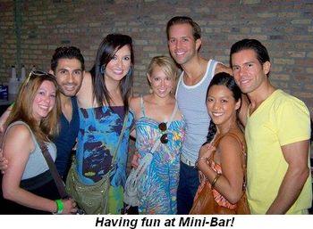 Blog 15 - Having fun at Mini-Bar!