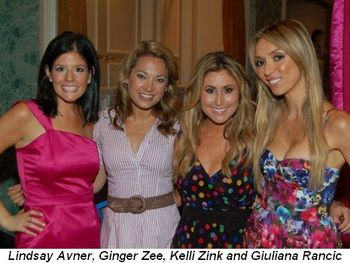 Blog 1 - Lindsay Avner, Ginger Zee, Kelli Zink and Giuliana Rancic
