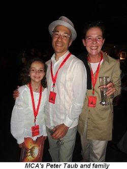 Blog 3 - MCA's Peter Taub and family