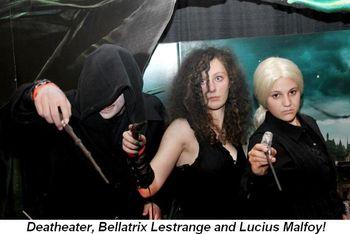Blog 4 - Deatheater, Bellatrix and Lucius Malfoy!