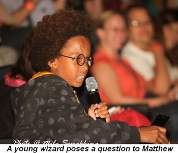 Blog 21 - A young wizard poses a question to Neville