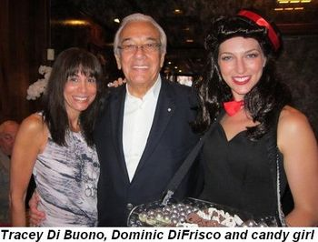 Blog 7 - Tracey Di Buono, Dominic DiFrisco and candy girl