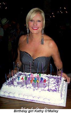 Blog 1 - Birthday girl Kathy O'Malley