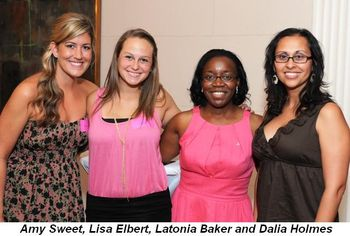 Blog 4 - Amy Sweet, Lisa Elbert, Latonia Baker and Dalia Holmes