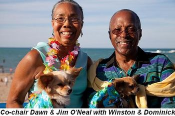 Blog 1 - Co-chairs Dawn & Jim O'Neal with Winston & Dominick