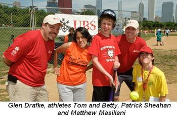 Blog 2 - Glen Drafke, athletes Tom and Betty, Patrick Sheahan, Matthew Masillani