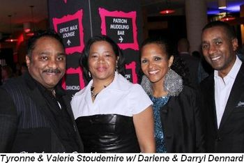 Blog 4 - Tyronne and Valerie Stoudemire with Darlene and Darryl Dennard