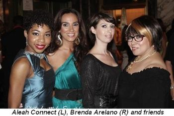 Blog 12 - Aleah Connect (L), Brenda Arelano (R) and glam friends