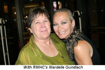 Blog 21 - With RMHC's Mardelle Gundlach