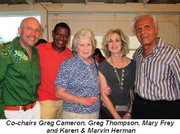 Blog 1 - Co-chairs Greg Cameron, Greg Thompson, Mary Frey, Karen and Marvin Herman