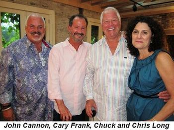 Blog 4 - John Cannon, Cary Frank, Chuck and Chris Long