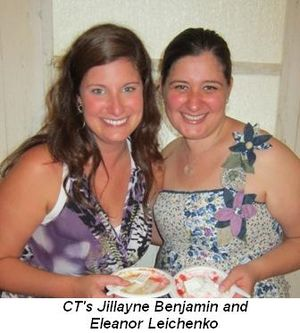 Blog 13 - CT's Jillayne Benjamin and Eleanor Leichenko