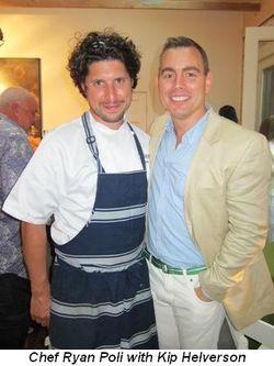 Blog 14 - Chef Ryan Poli and Kip Helverson