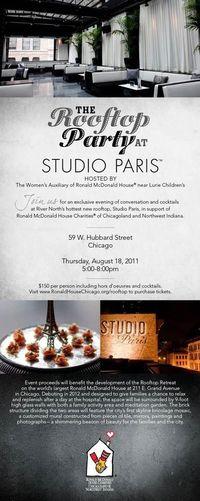 Rooftop Paris Invite