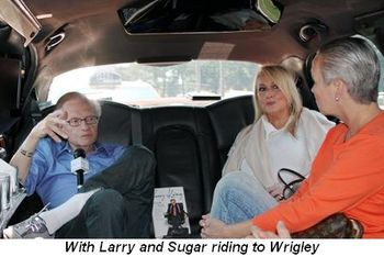 Blog 3 - With Larry and Sugar riding to Wrigley