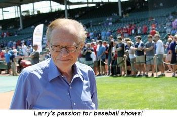 Blog 6 - Larry's passion for baseball shows!