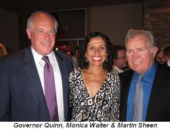 Blog 2 - Governor Quinn, Monica Walter and Martin Sheen