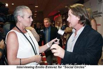 Blog 12 - Interviewing Emilio Estevez for Social Circles