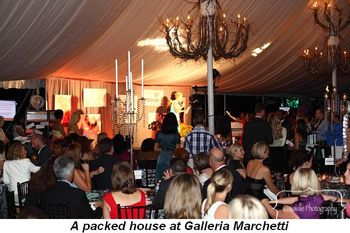 Blog 8 - A packed house at Galleria Marchetti