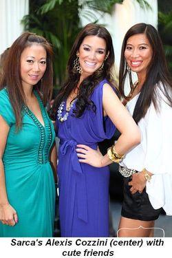 Blog 6 - Sarca's Alexis Cozzini (center) with cute friends
