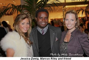 Blog 5 - Jessica Zweig, Marcus Riley and friend