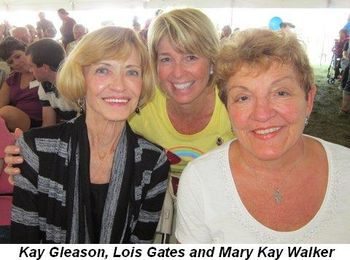 Blog 4 - Kay Gleason, Lois Gates and Mary Kay Walker