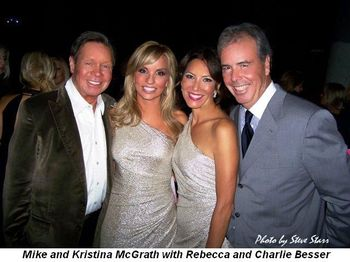 Blog 3 - Mike and Kristina McGrath with Rebecca and Charlie Besser