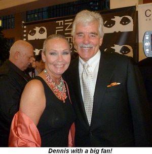 Blog 8 - Dennis with a big fan!