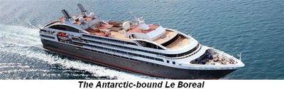 Blog 5 - Le Boreal Antarctica bound