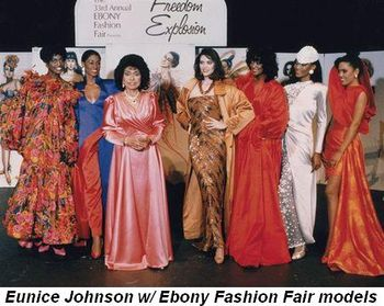 Blog 2 - Eunice Johnson with Ebony Fashion Fair models
