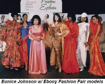 Blog 2 - Eunice Johnson with Ebony Fashion Fair models