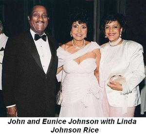 Blog 7 - Eunice and John Johnson with Linda Johnson Rice