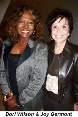 Blog 17 - Dori Wilson and Joy Germont