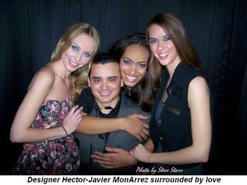 Blog 1 - Designer MonArrez surrounded by love