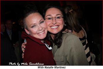 Blog - With Natalie Martinez