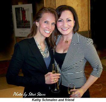 Blog 4 - Kathy Schmalen and friend