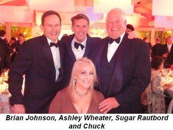 Blog 12 - Brian Johnson, Ashley Wheater, Sugar Rautbord and Chuck