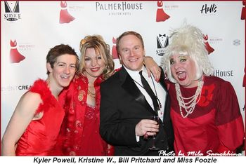 Blog 10 - Kyler Powell, Kristine W., Bill Pritchard and Miss Foozie