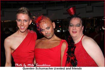 Blog 11 - Quenten Schumacher (center) and friends