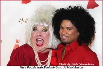 Blog 12 - Miss Foozie with Eyelash Guru Ja' Maal Buster