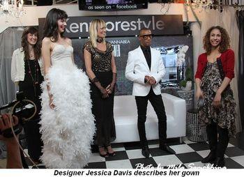 Blog 8 - Designer Jessica Davis describes her gown